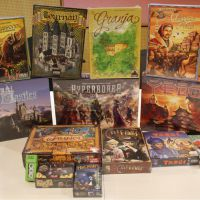 Boardgames from USA Cardhaus