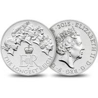 The Longest Reigning Monarch 2015 UK £2