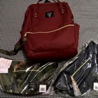 Anello backpack and shoulder bag