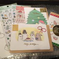 ㄇㄚˊ幾兔聖誕卡,心意卡,筆記本,貼紙