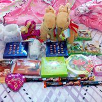 Stuff Toys x 2Chocolate x 15Mugs x 2