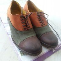 a pair of shoes(kickers)
