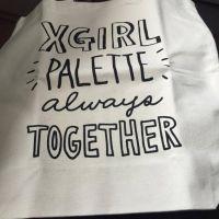 X GIRL TOTE BAG