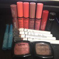 NYX Lip Gloss x 4 Lip Blam x 1 Lipsti