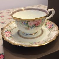 Bone China: tea pot, plate, cup  saucer