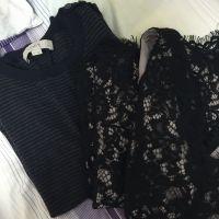2 X Dress 1 X Petite Striped Shoulder B