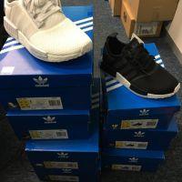 Adidas NMD white mesh x2