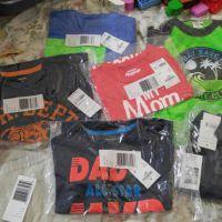 carters 5 pcs t-shirt + 2 pcs short for baby