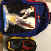 Lego backpack and storage bag x 2 USD45.