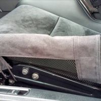 Charcoal bolster covers for GT4 bucket s