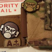MSM Tac-Organizer Pouches and patches