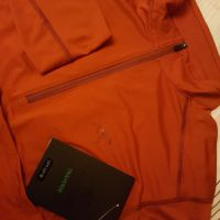 Arcteryx Ether Zip LS tee and belt