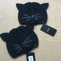 Knit Hat with Cat Ears x 2 GBP105 Origin