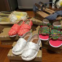 Toms shoes x 5 USD167.6Origin: