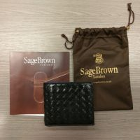 Wallet from Sage Brown