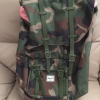 Hersel Supply Camo Backpack