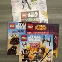 lego star wars book x 4 USD13.78Origin: