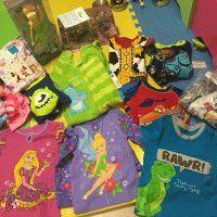 Clothes + toys  15