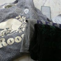 Roots: 2 tees and 2 sweaters