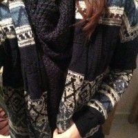 Abstract Pattern Cardigan (sold out)