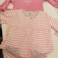 Carters baby clothes x7