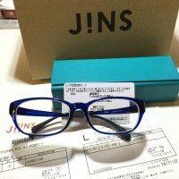 JINS日本直送有度數防藍光眼鏡