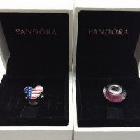 Pandora charm x2