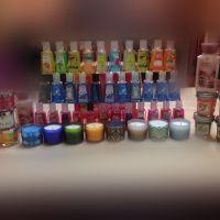 1 fl oz Hand gel x341.3 ozMini candle